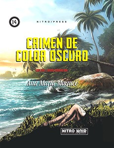 Crimen de color oscuro - Portada